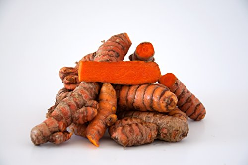 Turmeric Root - Whole Raw Organic Root - 5 Lb. Lots - Top Grade