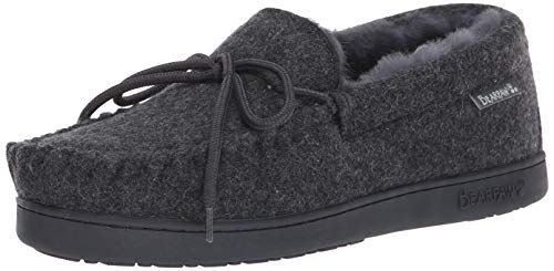 BEARPAW - Mens Moc Ii Solids Slippers, Size: 14 D US, Color: