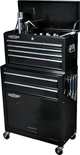 SpeedWay 7238 24 Inch Tool Chest Cabinet Combo