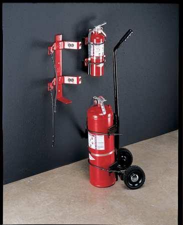 Fire Extinguisher Bracket, 30 lb. Afff Foam Fire Extinguisher