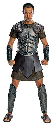 Titans Mascot Costume (UHC Men's Deluxe Perseus Clash Of Titans Theme Party Fancy Costume, XL (44-46))