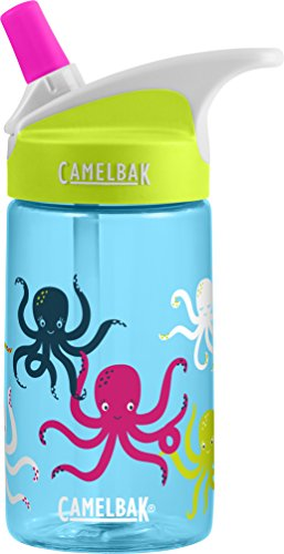 CamelBak Eddy Kids Back To School Water Bottle, Octopus, 0.4 L
