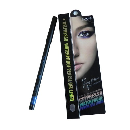 Clio Gelpresso Waterproof Pencil Gel Liner, Chic Navy/008, 0.5 Gram -