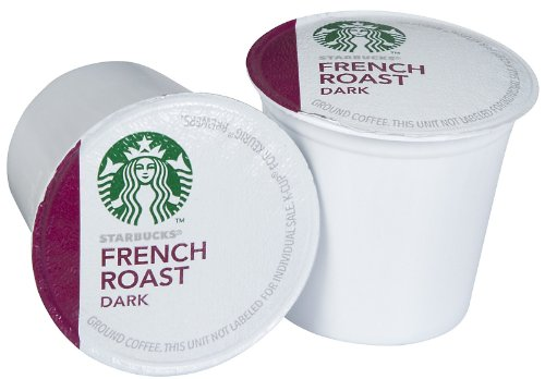 Starbucks French Roast Dark, K-Cup for Keurig Brewers, Dark Roast Coffee, 54 Count (Italian Roast K Cups Starbucks compare prices)