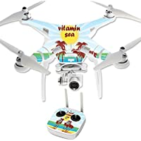 Skin For DJI Phantom 3 Professional – Vitamin Sea | MightySkins Protective, Durable, and Unique Vinyl Decal wrap cover | Easy To Apply, Remove, and Change Styles | Made in the USA