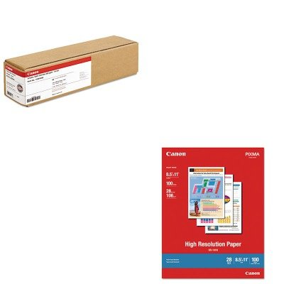 KITCNM1033A011CNM1429V466 - Value Kit - Canon Artistic Satin Canvas (CNM1429V466) and Canon High Resolution Paper (CNM1033A011)