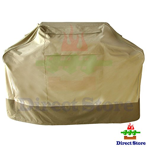 Direct store Parts DF912 Waterproof Heavy Duty BBQ Grill Cover for Weber (Genesis) ,Charmglow, Brinkmann, Jennair, Uniflame, Lowes, and Other Model Grills (Medium,Large,X-Large,XX-Large) (M 58*24*48) Cart Model Grill Cover