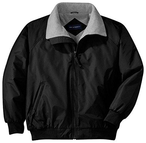 Port Authority Challenger Jacket (J754) Jacket,X-Large,True Black / Grey Heather