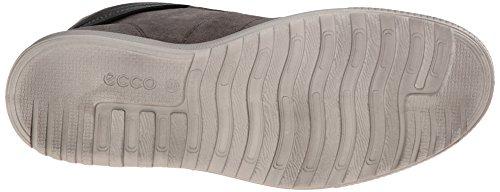 ECCO Ennio, Sneaker Alte Uomo Grigio(warm Grey/Black 54142)