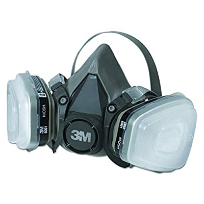 3M Paint Project Respirator, Medium - R6211-4 Pack