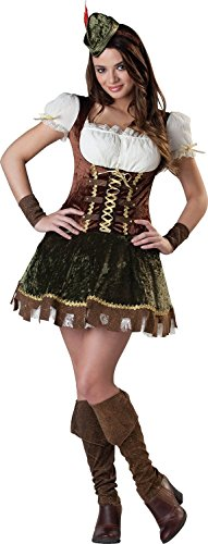 Robin Hood Halloween Costume Girl (Amscan Junior's Robin Hood Honey Halloween Costume, Large (11-13))