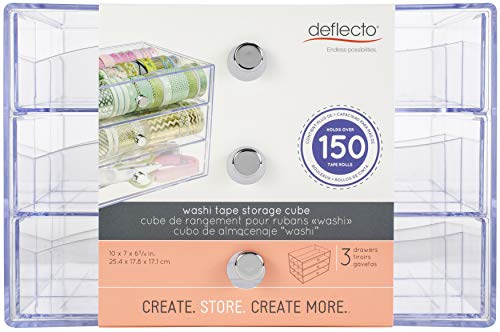 Deflecto 350901CR Craft Supplies, Multicolor