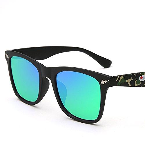 Couleur soleil lunettes Wayfarer Couple B Conduite Personnalité de Lunettes Lunettes protection E ZHIRONG solaire polarisées soleil de de w1AScRS4q