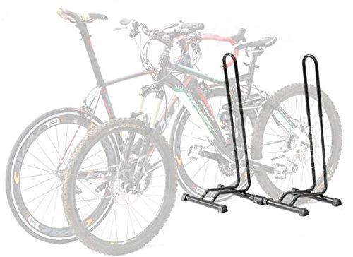 CyclingDeal 調節可能な自転車階駐車場のラック収納スタンド自転車 B00F0E2S5Q 2バイクラック 2バイクラック