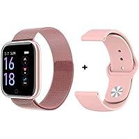 Smart Watch Relógio Inteligente T80 IP67 iOS e Android Original (Rosa)