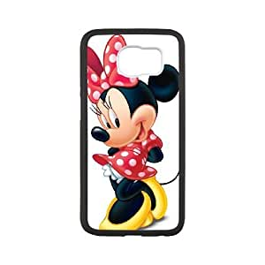 samsung galaxy s6 case , Minnie Mouse samsung galaxy s6 Cell phone case Black-YYTFG-23716