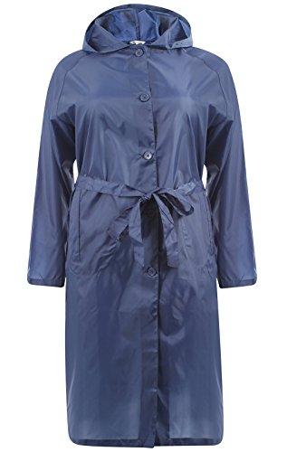 Abrigo Marino Para Impermeable Mujer Deals Gabardina Azul Hari qwTFA5R