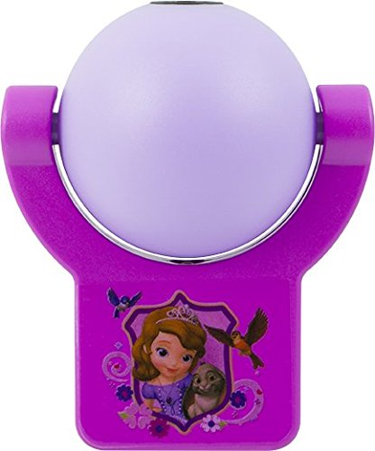 Projectables 14529 Disney Sophia The First LED Plug-in Night Light