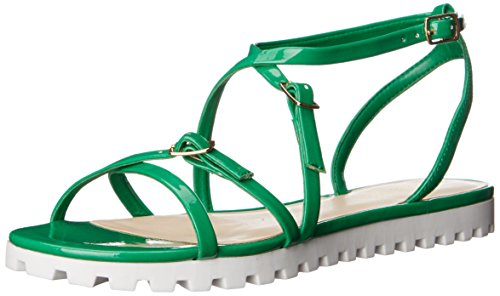 Women's Sharri West Gladiator Nine Synthetic Sandal Green 7q1a4
