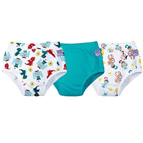 Bambino Mio 3 Piece Potty Training Pants, Mixed Boy Magical Kingdom, 18-24 Months