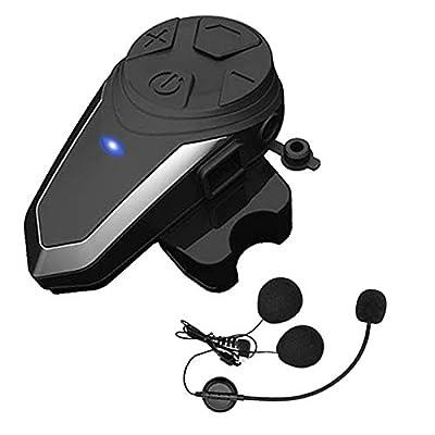 Motorcycle Bluetooth Headset Yaconob BT-S3 1000m Motorcycle Helmet Bluetooth Radio Intercom Wireless Interphone to 2-3 Riders (Waterproof/Handsfree/Stereo Music/FM Radio/GPS/MP3 1 Pack: Electronics