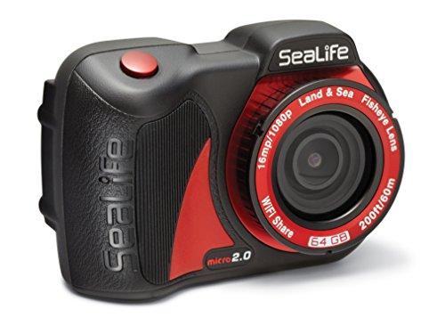 SeaLife Micro 2.0 WiFi (64GB) - Sea O-ring Red