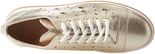 Twin Set Cs8pje, Sneaker Donna Oro (Platino)