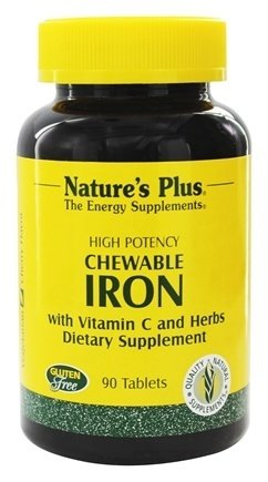Natures-Plus-Chewable-Iron-w-Vit-C-90-Chewable-Tablets