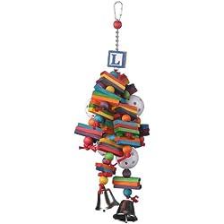 Super Bird Creations 14 by 6-Inch Wally's Wonder Bird Toy, Medium