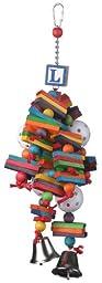 Super Bird Creations 14 by 6-Inch Wally\'s Wonder Bird Toy, Medium