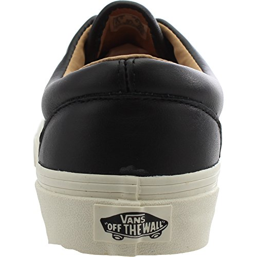 Negro Ua Entrenadores Adulto Zapatos Era Cuero Vans pExFwqdq