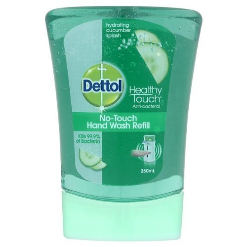 Dettol No-Touch Hand Wash Refill Hydrating Cucumber Splash 4x250ml