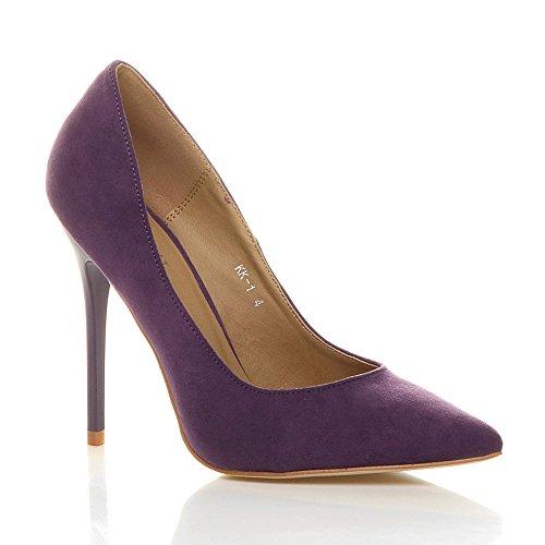 alto Donna elegante tacco festa moda scarpe lavoro de d wwqT41