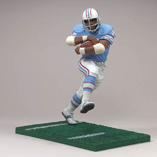 Tennessee Titans Action Figure - McFarlane NFL Legends Series 3 Earl Campbell Houston Oilers Action Figure - Tennessee Titans