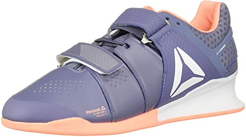 Reebok Women's Legacylifter Cross Trainer, WASIND/sunglo/White, 8.5 M US