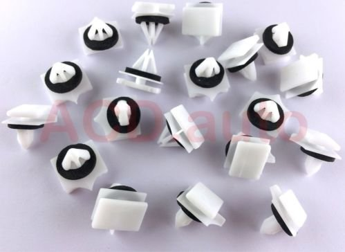 100xNylon PANEL MOULDING CLIPS FOR GM CHEVY AVALANCHE 2002-ON 11518357