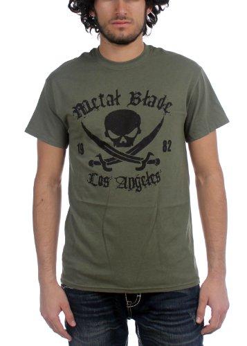 metal blade records t shirt - 2