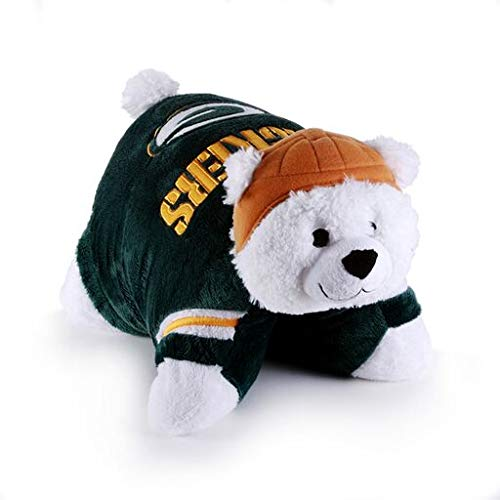 (Fabrique Innovations NFL Pillow Pet , Green Bay Packers, Large)