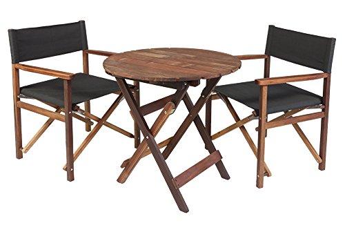 gartenm bel set antro aus exklusivem mahagoni hartholz ge lt 2 xl regiest hle und runder. Black Bedroom Furniture Sets. Home Design Ideas