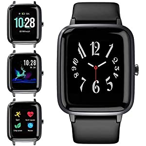 Blackview Smart Watch for Android Phones and iOS Phones, All-Day Activity Tracker with Heart Rate Sleep Monitor, 1.3…