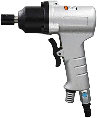 Pneumatic Woodworking Equipment Color : Silver Labor-saving Double Ring Thick Shaft Air Screwdriver Industrial-grade 10H Hand-held Air Screwdriver