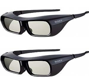 Sony TDG-BR250/B + TDG-BR200/B Negro - Gafas 3D (Mini-USB A, 3 h, 0,5 h, Negro)