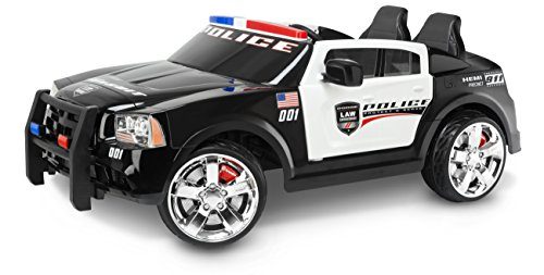 Kid Trax Dodge Charger Pursuit 12v Police Car Kt1111wm
