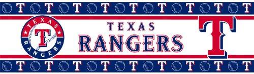 MLB Texas Rangers Wall Border