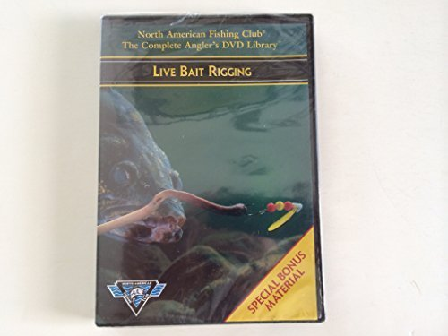 North American Fishing Club The Complete Angler's DVD Library - Live Bait Rigging (Rigging Live Bait)