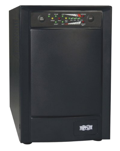 Tripp Lite SU750XL 750VA 600W UPS Smart Online Tower 100V/110V/120V USB DB9 SNMP RT, 6 Outlets (Rs 232 Protection Module)