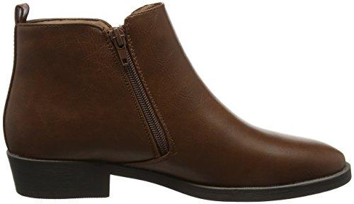 2 Bottines Boot Look Zip New Femme PU Darleen Day 0EWwp1