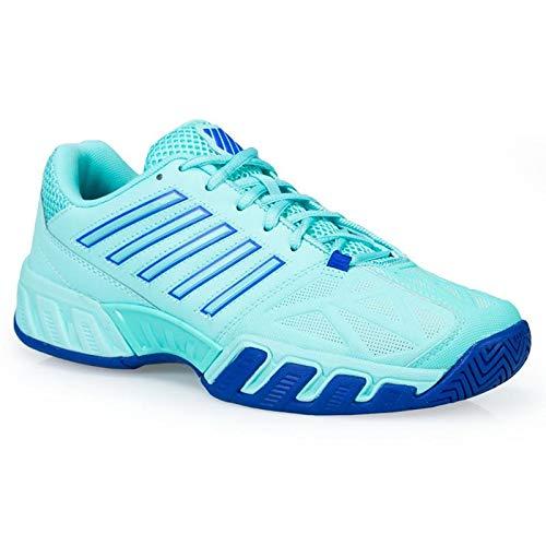 K-Swiss Bigshot Light 3 Womens Tennis Shoe (Aruba Blue/Dazzling Blue, 9.5 B(M) US) ()