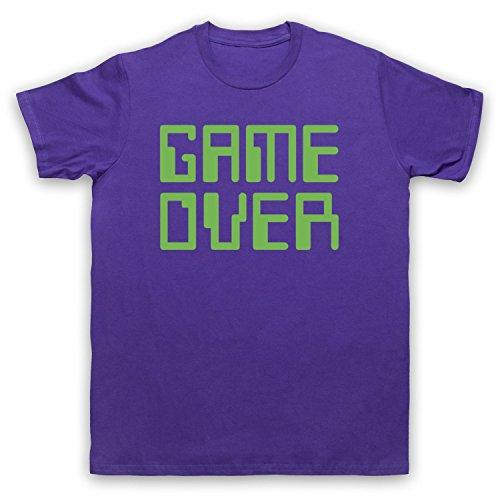 Game Over Hipster Camiseta para Hombre Morado