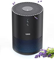 TOPPIN HEPA Air Purifiers for Home with Fragrance Sponge UV Light Pollen Pet Hair Dander Smoke Dust Airborne C
